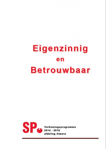 VLA…..Boter bij de vis :: SP Almere: almere.sp.nl/nieuws/2006/10/vla-boter-bij-de-vis